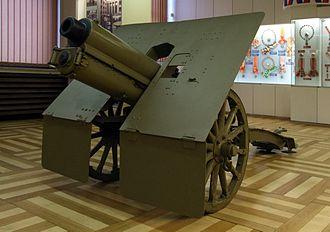 4th Army (Kingdom of Yugoslavia) - Image: Skoda 75 mm Model 1928 (AM Žižkov)