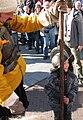 Slag om Grolle 2008-1 - Een jonge recruut meldt zich aan voor de belegering van Groenlo.jpg