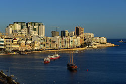 View of Sliema