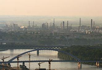 MOL Group - MOL subsidiary Slovnaft oil refinery in Bratislava