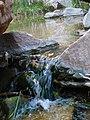 Small Waterfall on Lower Pine Creek Hike - panoramio.jpg