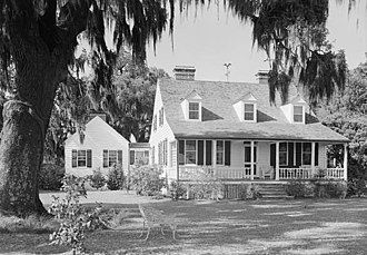 Charles Pinckney National Historic Site - Snee Farm House, 1940