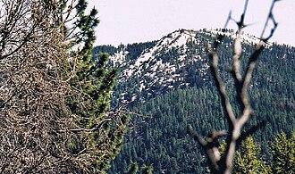 Snow Mountain Wilderness - Snow Mountain, East Peak, April, 2003