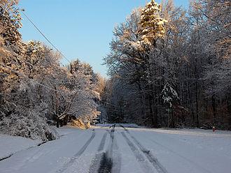 Derita (Charlotte neighborhood) - Snow in Derita, 2009