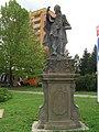 Sochy - soubor soch (Valašské Meziříčí), Masarykova, Valašské Meziříčí - socha sv. Libora.JPG