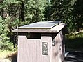 Solar power for outhouse fan (10490184424).jpg