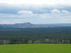 Solikamsky District - View of Solikamsk from the north