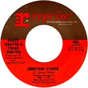 Somethin' Stupid - Image: Somethin' Stupid by Frank and Nancy Sinatra