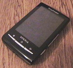 Image illustrative de l'article Sony Ericsson Xperia X10 Mini