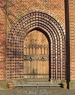Sortebrødre kirkes dør 2008-04-07.jpg