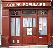 Soup kitchen, Rue Clément, Paris 6.jpg