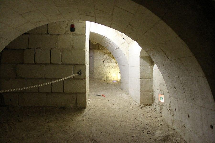 Château de Brézé: Réseau souterrain troglodytique