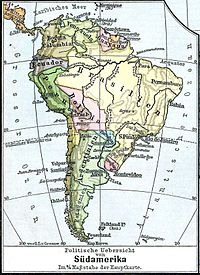 Physische Karte Lateinamerika.Sudamerika Wikipedia