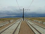 South along tracks from South Jordan Parkway station, Apr 16.jpg
