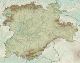 Sierra De Gredos Mapa.Sierra De Gredos Wikipedia La Enciclopedia Libre
