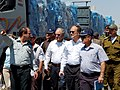 Special Envoy Mitchell and Ambassador Cunningham Visit the Kerem Shalom Crossing (4749324822).jpg