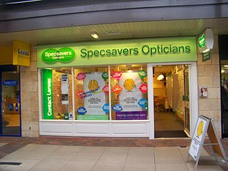Specsavers - A branch of Specsavers in the Horsefair Centre in Wetherby, West Yorkshire.