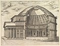 Speculum Romanae Magnificentiae- The Pantheon, broken away to show the interior MET DP827587.jpg