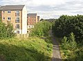 Spen Valley Greenway from Snelsins Bridge, Cleckheaton - geograph.org.uk - 525993.jpg