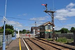 Spooner Row railway station - Image: Spooner Row Railway Station