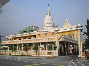 Sri Lankan diaspora - Sri Lanka Buddhist Temple (from Lorong Timur), Sentul, Kuala Lumpur