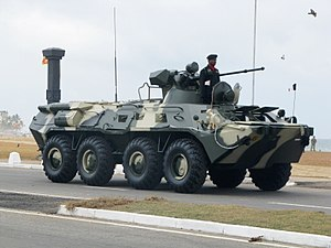 Sri Lanka Armed Forces - BTR-80 Armoured Personnel Carrier - Sri Lanka Army
