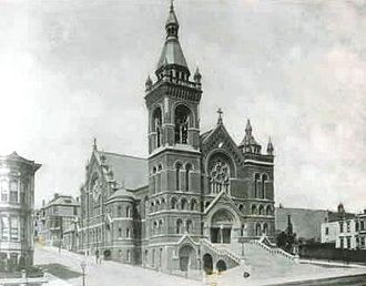 Cathedral of Saint Mary of the Assumption (San Francisco, California) - The 1891 cathedral