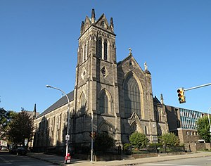 Allegheny Center (Pittsburgh) - Image: St.Peters Roman Catholic Church Pittsburgh
