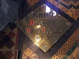 St. Patrick's Cathedral Swift plaque.jpg