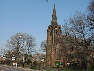 Gateacre - Image: St. Stephens Church, Gateacre, Liverpool
