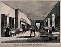 St Bartholomew's Hospital, London; the interior of a ward wi Wellcome V0013017.jpg