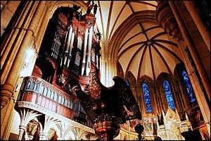 St Bartholomew's Church, Armley - The organ