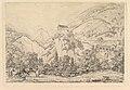 St Georgsberg near Switzerland in the Tyrol, after Klein MET DP824265.jpg