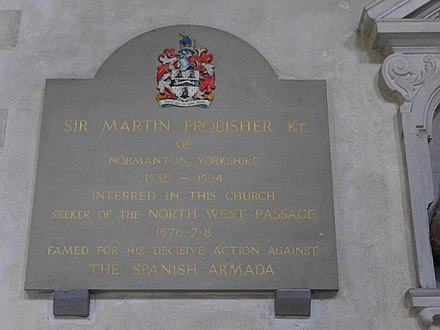 Plaque in St Giles-without-Cripplegate, London St Giles-without-Cripplegate, London 05.JPG