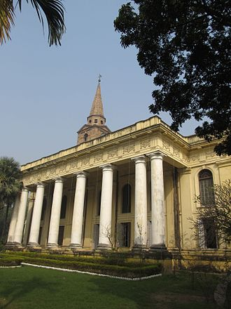 St. Paul's Cathedral, Kolkata - St. Paul's church replaced St. John's Church, Kolkata (shown above) as the cathedral