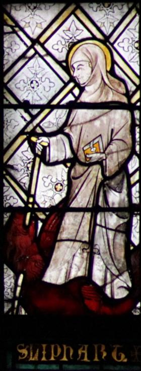 LE LIVRE D'HEURES DE LA REINE ANNE DE BRETAGNE (vers 1503) TRADUIT DU LATIN par M. L'ABBÉ DELAUNAY – Paris - 19 eme sièc 280px-St_Liphart