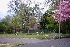Derrington - St Matthew's parish church