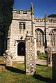 St Neot, crosses in churchyard - geograph.org.uk - 43483.jpg