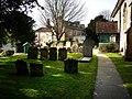 St Thomas Bedhampton, churchyard - geograph.org.uk - 1174687.jpg