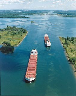 Saint Lawrence Seaway canal