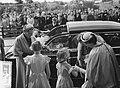 Staatsbezoek president Coty aan Nederland. Mevrouw Coty en koningin Juliana bezo, Bestanddeelnr 906-6178.jpg