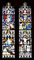 Stained glass window, St Peter's Church, Shipton Bellinger - geograph.org.uk - 898747.jpg