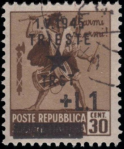 StampTrieste1945Michel18