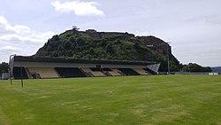 Stand at the Dumbarton Football Stadium - Home of Dumbarton FC.jpg