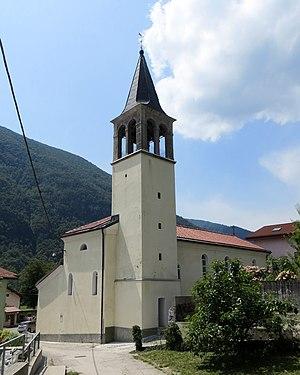 Staro Selo, Kobarid - Saint Leonard's Church