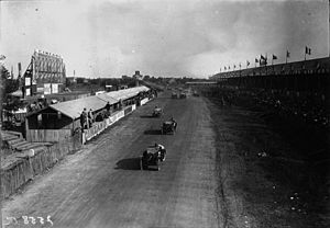 1923 French Grand Prix - Start of the race
