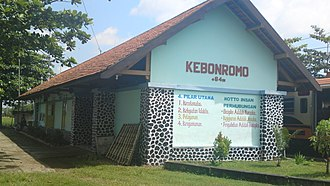 Sragen Regency - Image: Stasiun Kebonromo