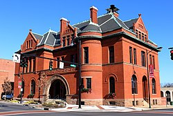Statesville City Hall Building, built c. 1890-92