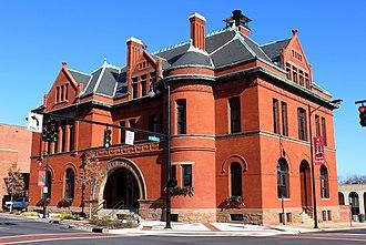 Statesville, North Carolina - Statesville City Hall Building, built c. 1890-92