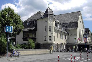 Bonn-Bad Godesberg station railway station in Bonn, Germany